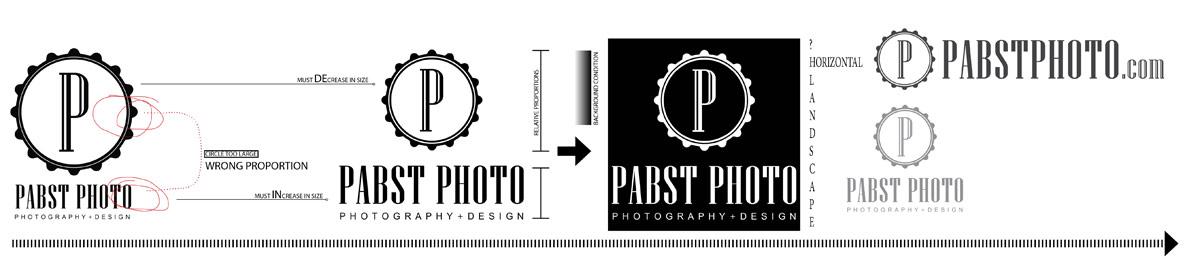 logo design finalizing pabst