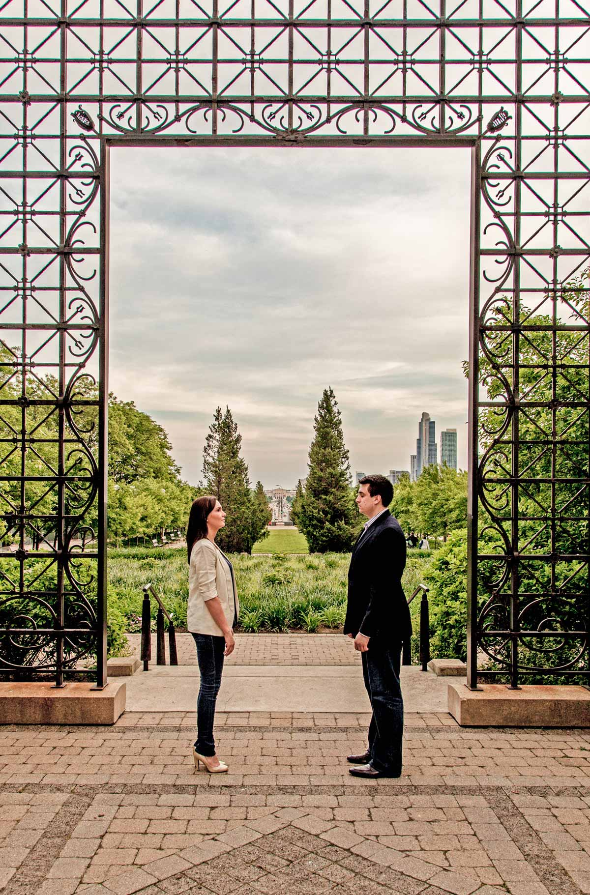 chicago engagement photography session photography matt holly night (11)