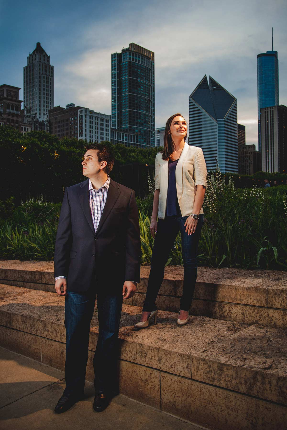 chicago engagement photography session photography matt holly night (15)