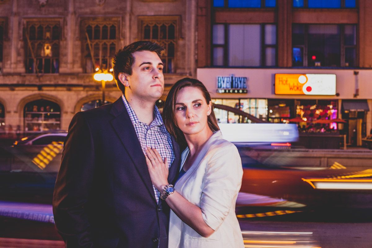 chicago engagement photography session photography matt holly night (28)