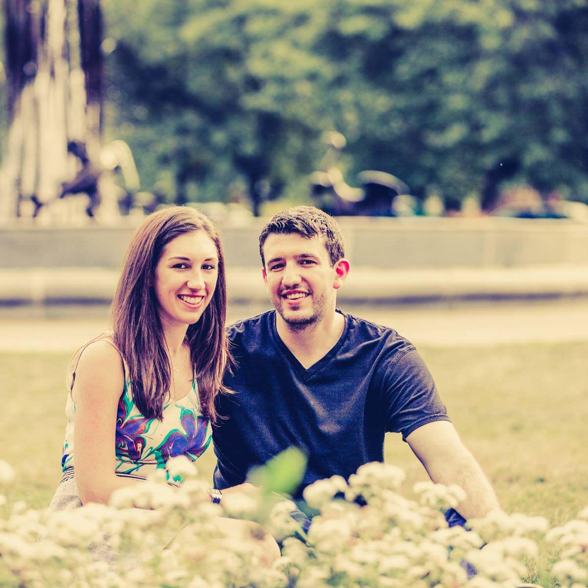 engagement session chicago lincoln park flowers (5)