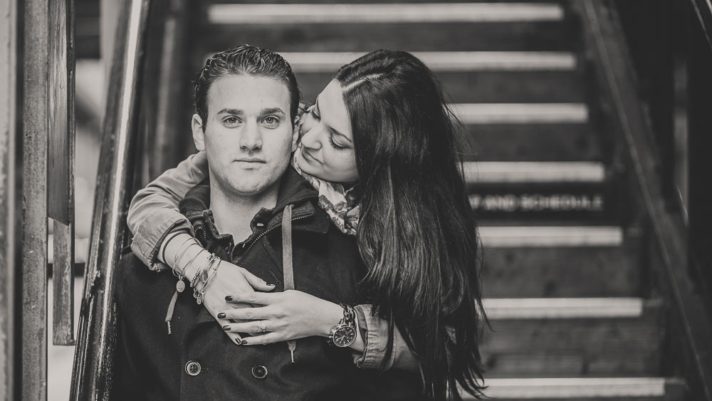 el chicago engagement photography