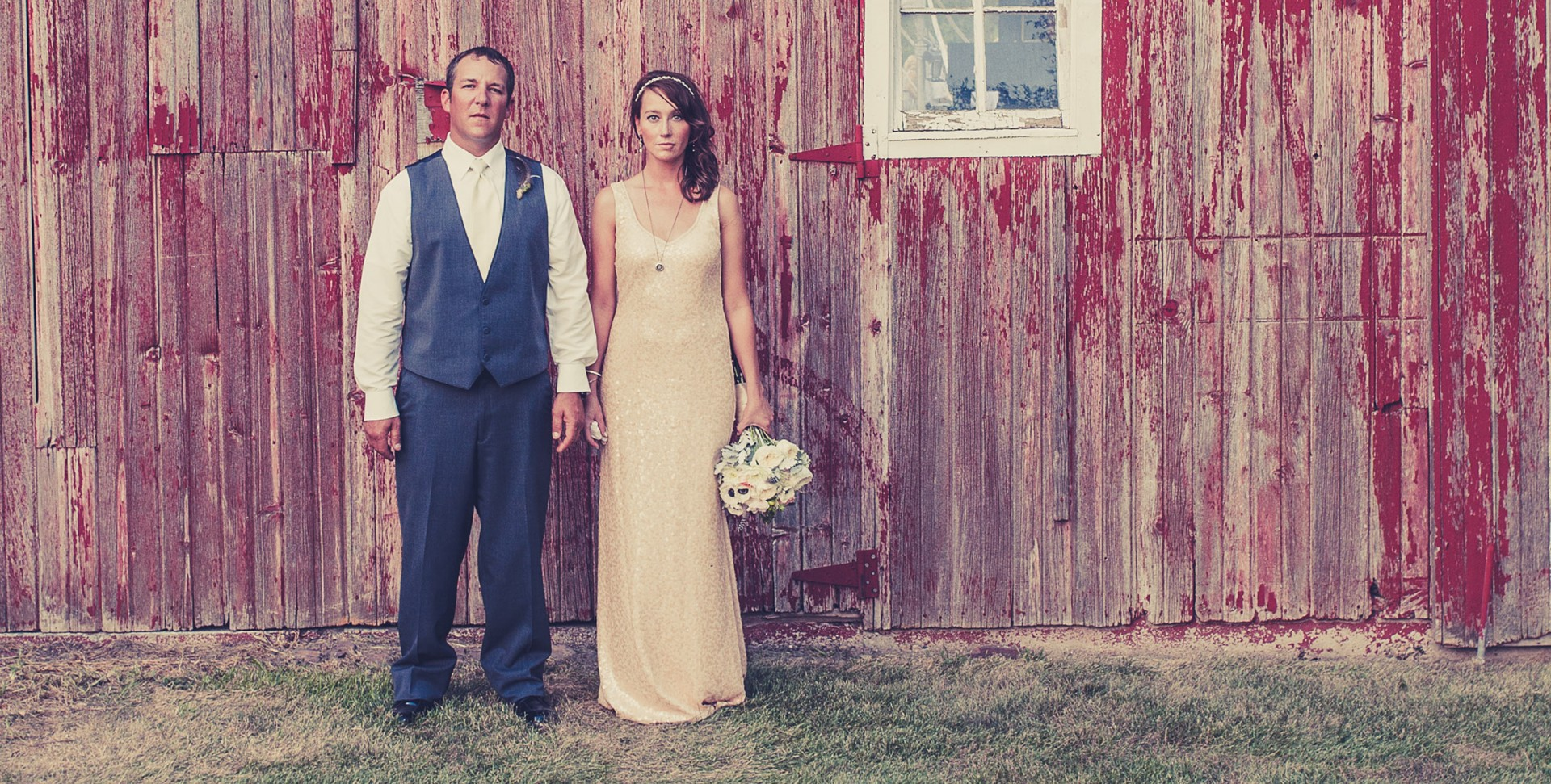 Chic Farm Wedding