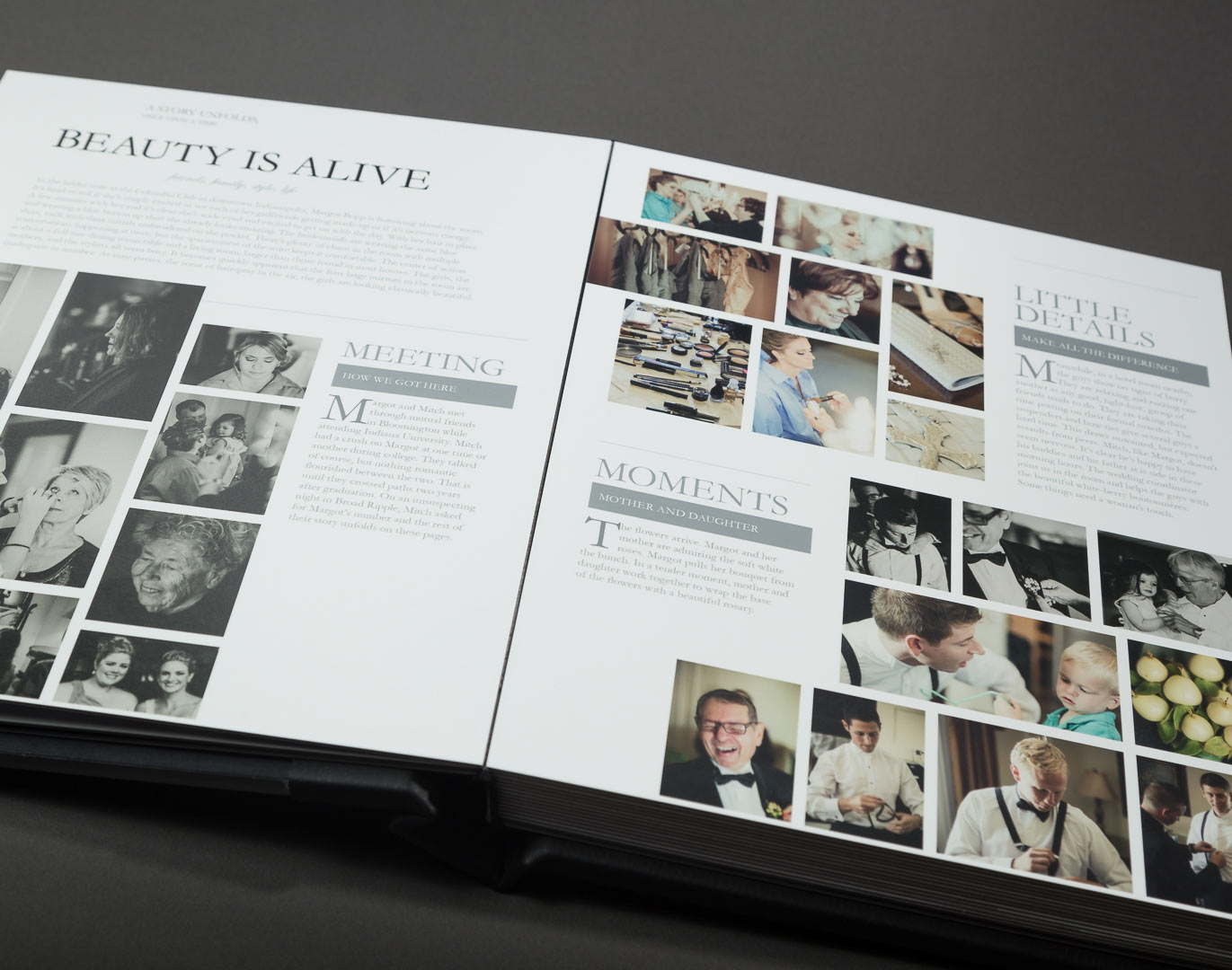 wedding magazine album  u2014 wedding photographer